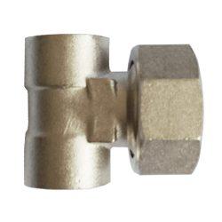 """DELTA T osztó végelem tömítő gyűrűvel 1""""Bx1/2""""Bx1/2""""B"""