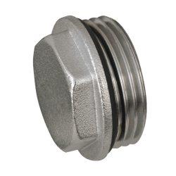 """DELTA nikkelezett dugó tömítő gyűrűvel 3/4"""""""