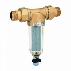 """HONEYWELL FF06 öblíthető ivóvíz szűrő, PN16, holl., 100µm, 40°C, 5/4""""K"""