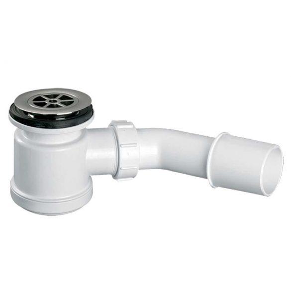 MCALPINE HC26-CP zuhanytálca szifon, króm
