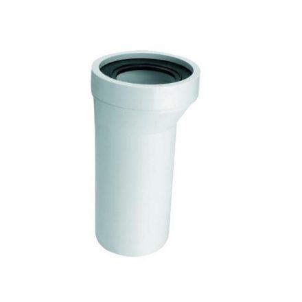 MCALPINE HC36/WC-CON6 WC-bekötőcső, excentrikus, 20mm, DN110x260mm