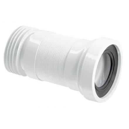 MCALPINE HC36S/WC-CON3 WC-bekötőcső, egyenes, DN110x260mm
