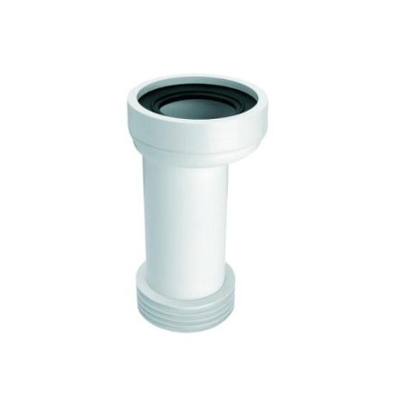 MCALPINE HC37/WC-CON5 WC-bekötő cső, excentrikus, L=260mm, DN100/110