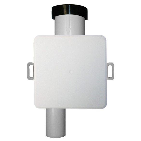 HL 138 klímaszifon, falba süllyesztve,revíziós fedéllel,kiv.bűzzárral,DN32
