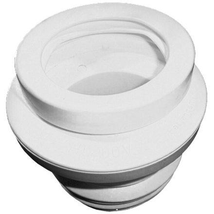 HL 200/1 WC-csatlakozó, lamellás tömítéssel, 0-20mm elállítható excenter