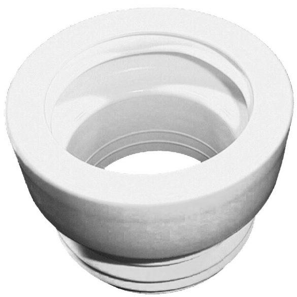 HL 201/1 WC-csatlakozó lamellás tömítéssel, DN110