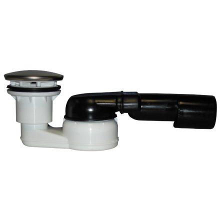 HL 514/SN zuhanytálca szifon, gömbcsuklós csatlakozóval, csökkentett magassággal