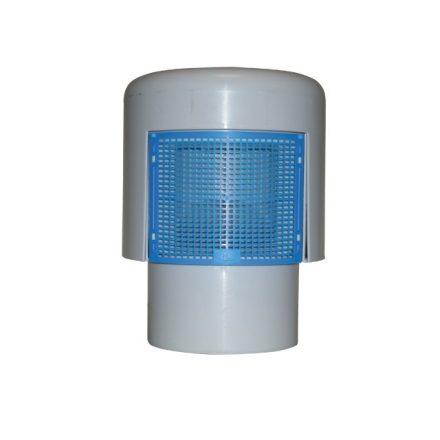 HL 900N ECO légbeszívó szelep, rovarfogó ráccsal, DN110 kettős falú légszig-sel