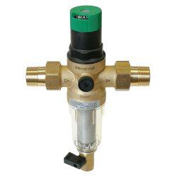 """CONCEPT FK06 öblíthető vízszűrő és nyomáscsökkentő PN16,hollandi,100µm,40°C,1""""K"""