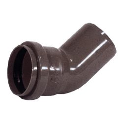 PIPELIFE KAB PVC lefolyó könyök 45°, 32mm