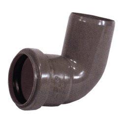 PIPELIFE KAB PVC lefolyó könyök 90°, 32mm