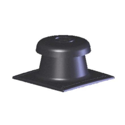 TRICOX KF20 kürtőfedél fekete 80 mm