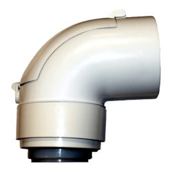 BAXI koncentrikus könyök ellenőrző idom PPs/alu 60/100mm