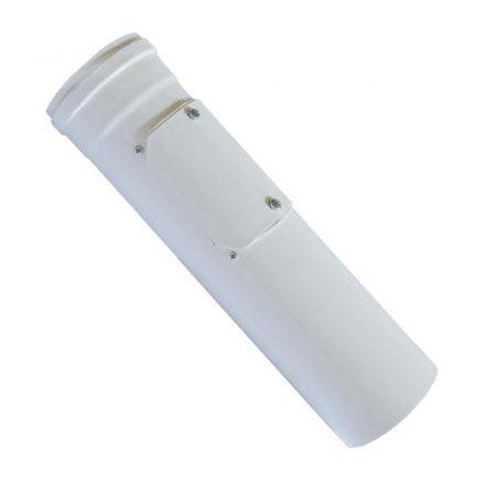 BAXI koncentrikus egyenes ellenőrző idom PPs/alu 60/100mm L=330 mm