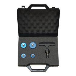 FixTrend csőkalibráló szett, műanyag táskában (16-20-26-32 + kar)
