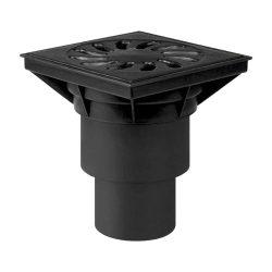 FixTrend kültéri összefolyó, alsó kifolyású, öntöttvas fedlap, DN110/160