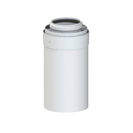 TRICOX PACS605C koncentrikus cső PPs/alu 80/125x250mm