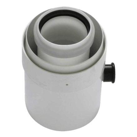 TRICOX PAKL60C koncentrikus kondenzátum leválasztó PPs/alu 80/125 mm