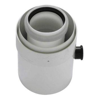TRICOX PAKL60C Koncentrikus PPs/alu kondenzátum leválasztó 80/125mm