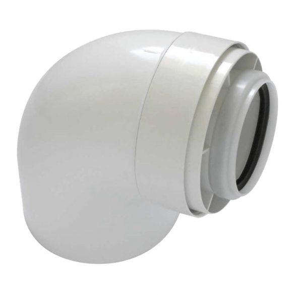 TRICOX PAKÖ601C koncentrikus könyök 87° PPs/alu 80/125mm