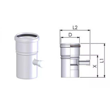 TRICOX PAMP50C koncentrikus mérőpont PPs/alu 60/100mm