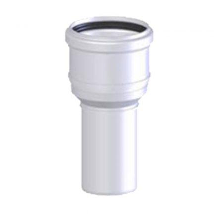 TRICOX PBÖ5060 bővítő idom PPs/alu 60/100 - 80/125 mm