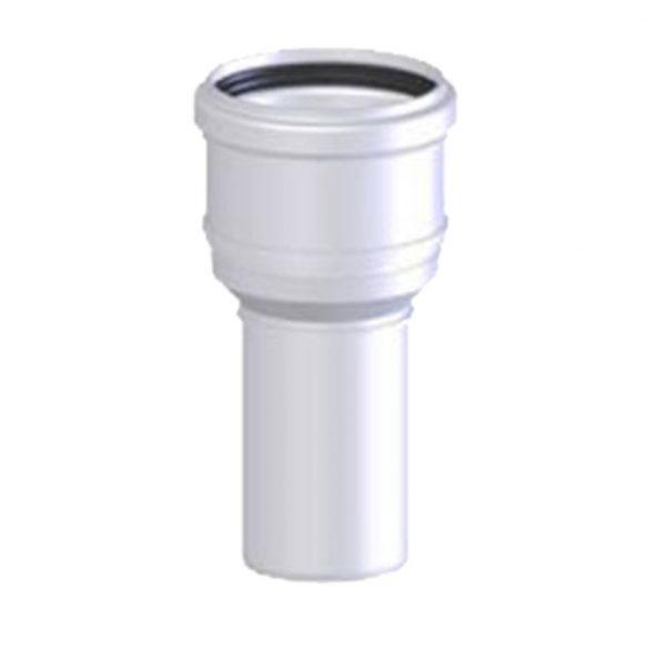 TRICOX PBÖ5060 bővítő idom PPs/alu 60/100mm-80/125mm