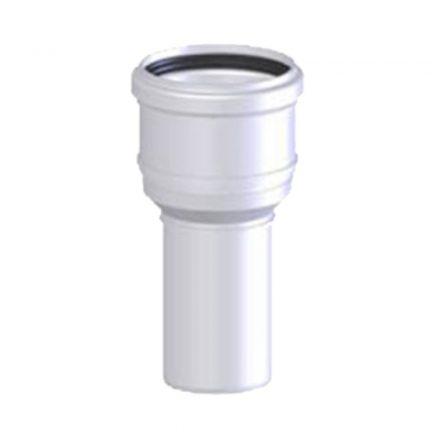 TRICOX PBÖ6005 bővítő idom PPs/alu 80/125 -110/160 mm