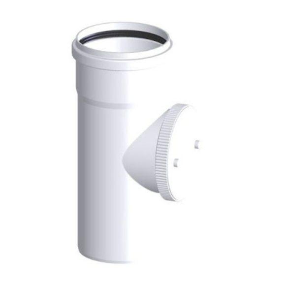 TRICOX PEE20 egyfalú ellenőrző idom PPs 80mm