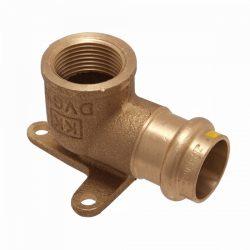"IBP PG4001G réz press falikorong, gázra, 15mm-1/2"""