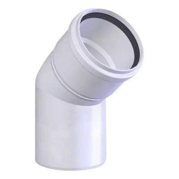 TRICOX PKÖ202 Egyfalú PPs könyök 45° 80mm