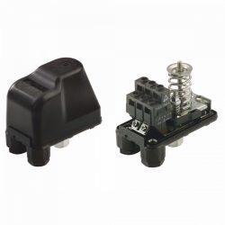 """ITL PM/5GS nyomáskapcsoló vízre, fekete, 1-5bar, 1/4"""", 230V"""