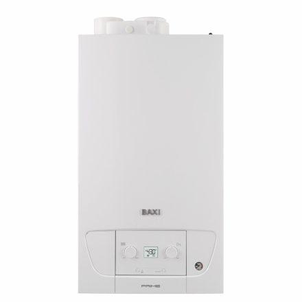 BAXI Prime 28 kondenzációs kombi (cirkó) gázkazán, F:24kW, HMV:28kW, IPX5D