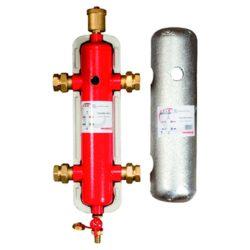 "GIACOMINI R146IY hidraulikus váltó+szig+4holl+kazánt+légt., 2.5m3/h, 45kW, 1"""