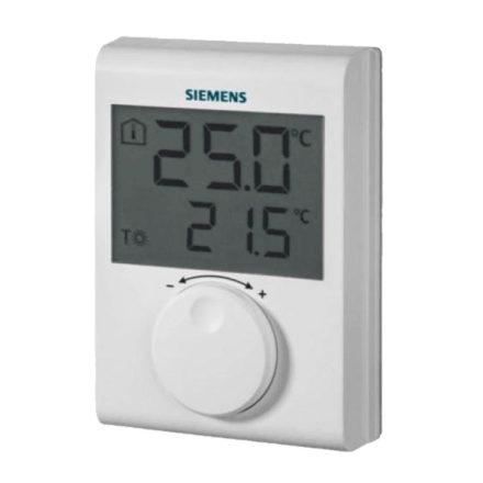 SIEMENS RDH100 digitális, öntanuló szobatermosztát, 5-30°C