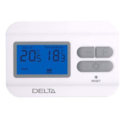 DELTA S2301 digitális szobatermosztát, fűtésre/hűtésre