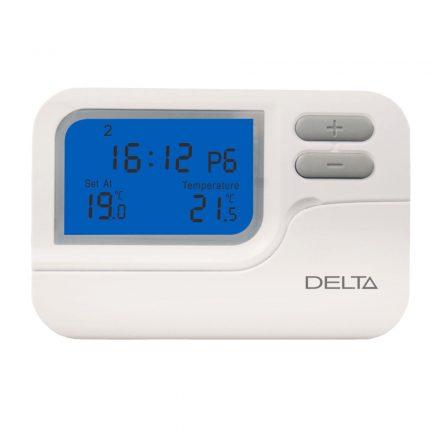 DELTA S2302 programozható digitális szobatermosztát, 6x6 programmal