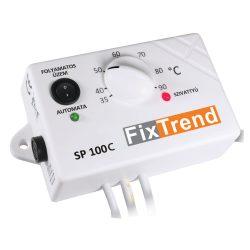 FixTrend SP100C termosztát, HMV cirkulációs szivattyúhoz