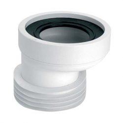 MCALPINE WC-CON4 WC csatlakozó, excentrikus, DN100/110mmxL=150mm