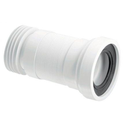 MCALPINE WC-F23R flexibilis WC-bekötőcső 100/110x440mm, lamellás