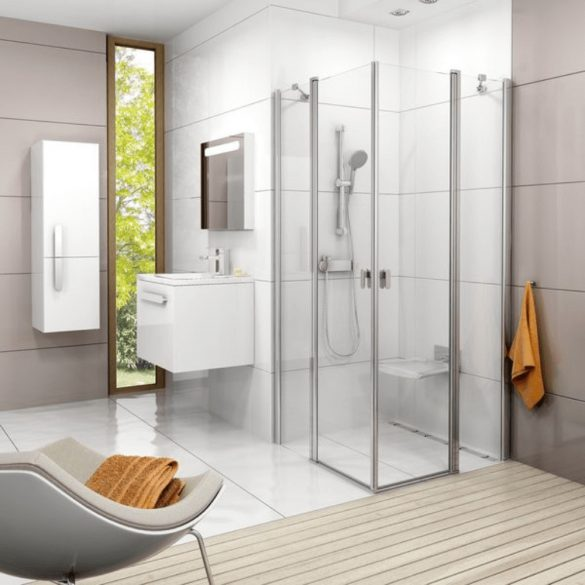RAVAK Chrome CR 032.00/150 fali zuhany csaptelep, zuhanyszett nélkül image kép