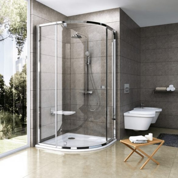 RAVAK Termo TE 091.00 zuhanyoszlop termosztatikus csapteleppel - image kép