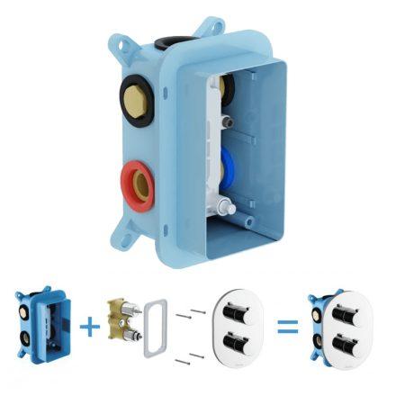 RAVAK RB 071.50 R-Box Multi falba süllyesztett egység termosztátos csaptelephez