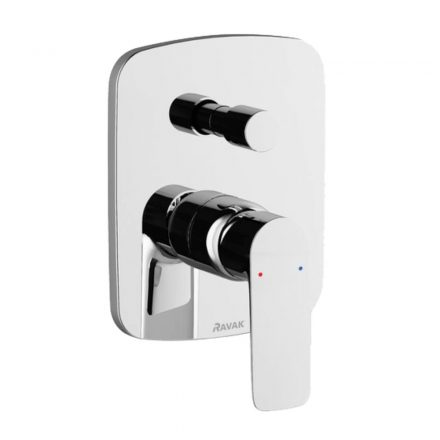 RAVAK Classic CL 061.00 falsík alatti kád csaptelep zuhanyváltóval belső egységgel