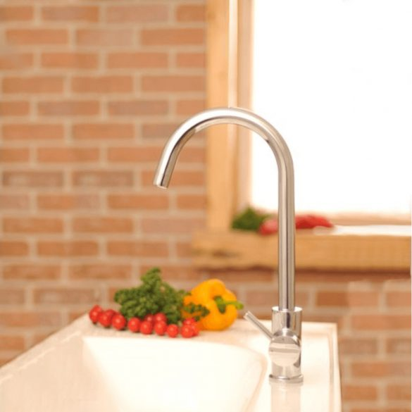 RAVAK Freedom álló, egykaros mosdó/mosogató csaptelep image kép