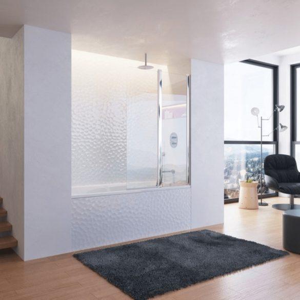 RAVAK Chrome CR 064.00 falba süllyesztett termosztatikus zuhany csaptelep image kép