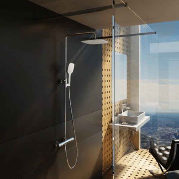 RAVAK Termo TE 093.00/150 zuhanyoszlop termosztatikus zuhany csapteleppel image kép