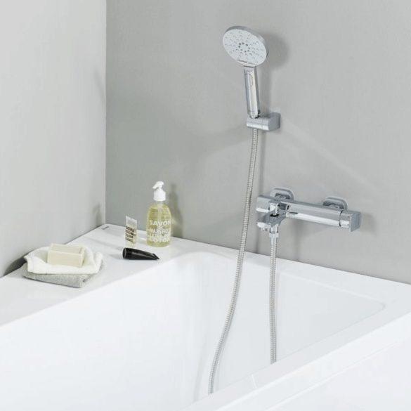 RAVAK Chrome CR 611.00 állítható fali zuhanytartó image kép