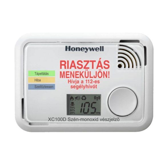 HONEYWELL XC100D-A szén-monoxid vészjelző LCD kijelzővel