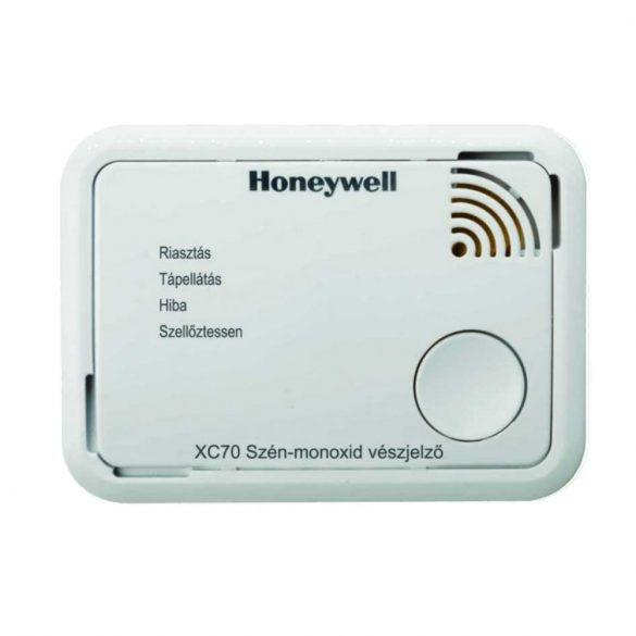 HONEYWELL XC70-A szénmonoxid érzékelő/vészjelző, 7 év élettartammal